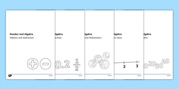 Year One Number and Algebra Assessment Pack-Australia