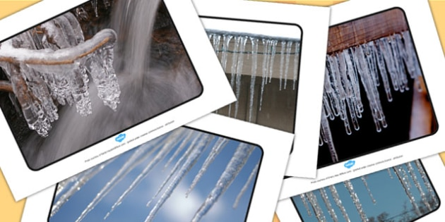Icicle Display Photographs - icicles, display, photographs, photo