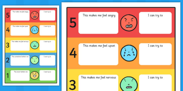 Feelings Trigger Chart With Strategies - feelings, trigger, chart, strategies