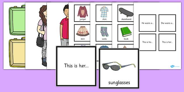 He, She, His, Her Pronoun Activity - activities, literacy, pronouns