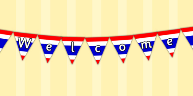 Thai Flag Welcome Display Bunting - display, colourful, detail, language, translation, geography, foreign language