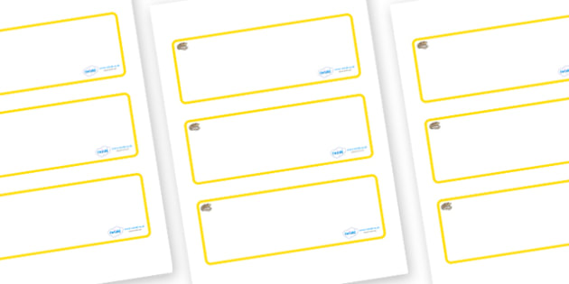 Pearl Themed Editable Drawer-Peg-Name Labels (Blank) - Themed Classroom Label Templates, Resource Labels, Name Labels, Editable Labels, Drawer Labels, Coat Peg Labels, Peg Label, KS1 Labels, Foundation Labels, Foundation Stage Labels, Teaching Labels