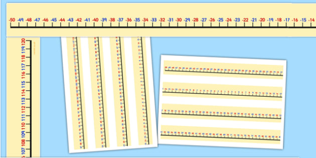Minus 50 to 120 Display Border - -50, 120, display border, display, border