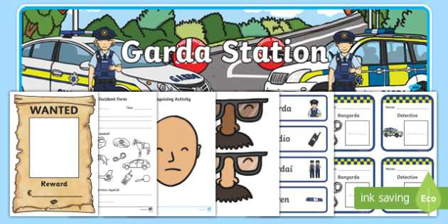 ROI Garda Role Play Pack