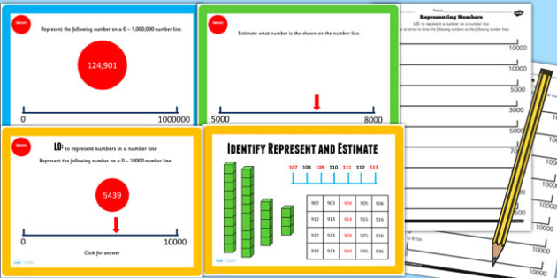Year 4 Identify Represent Estimate Lesson 2 Teaching Pack - KS2
