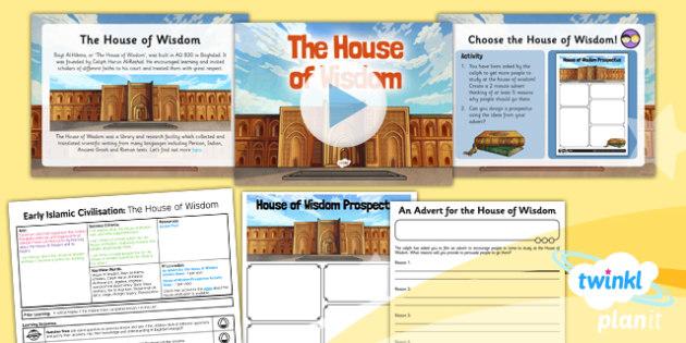 PlanIt - History UKS2 - Early Islamic Civilisation Lesson 2: The House of Wisdom Lesson Pack - learning, Razi, medicine, surgery, Al-Zahrawi, Islam