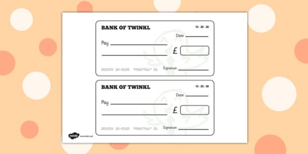 Fruit And Veg Shop Role Play Cheque Book - Fruit and Vegetable Shop Role Play Pack, Role Play Cheque Books , Cheque Book, Role Play, Money, Shop, Till, Purchase, topic, activity fruit, vegetables, shop, produce, customer, till, role play, display, po