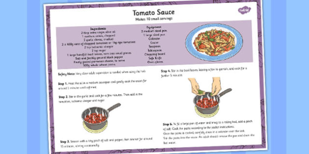Recipe Tomato Sauce - tomatoes, recipies, cooking, cook, food