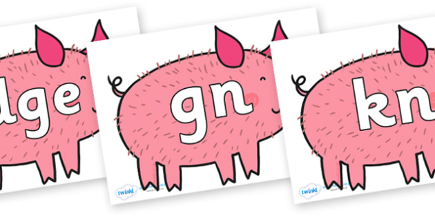 Silent Letters on Hairy Hog to Support Teaching on What the Ladybird Heard - Silent Letters, silent letter, letter blend, consonant, consonants, digraph, trigraph, A-Z letters, literacy, alphabet, letters, alternative sounds