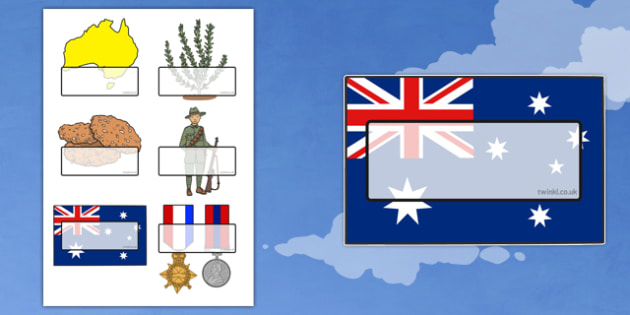 Anzac Day Self Registration Template - anzac day, anzac, remember