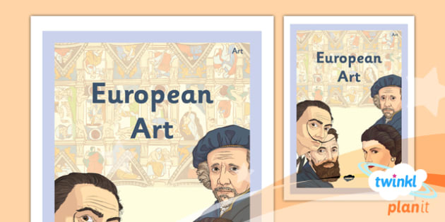 Art: European Art LKS2 Unit Book Cover