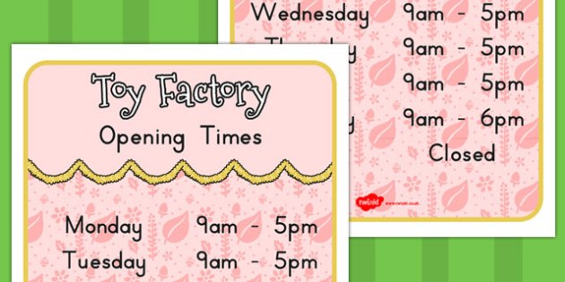 Toy Factory Opening Times - australia, toy factory, christmas
