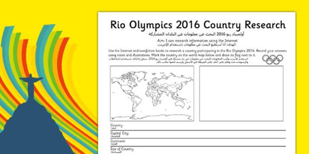 Rio 2016 Olympics Country Factfile Arabic Translation - rio olympics, 2016 olympics, country, factfile, fact file, olypics, olimpics, olymipcs, olymoics, olymics, olmpics, olymipics, olympis, oympics, olympica, olypmics, olmypics, olumpics, oylmpics,