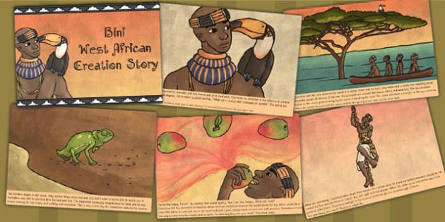 Kingdom of Benin: Bini Creation Story Cards