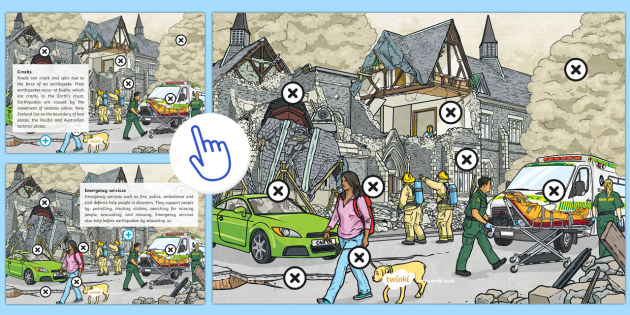 Earthquake Hotspots Information Poster - New Zealand Natural Disasters, earthquake,