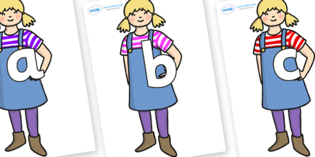 Phoneme Set on Little Girl - Phoneme set, phonemes, phoneme, Letters and Sounds, DfES, display, Phase 1, Phase 2, Phase 3, Phase 5, Foundation, Literacy