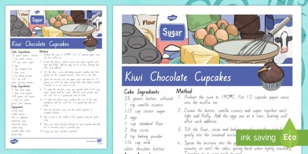 Treaty treats Kiwi chocolate cupcakes Recipe - Waitangi Day, Treaty of Waitangi, tiriti o waitangi, kiwi, kiwiana, recipes