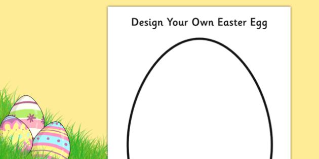 Design an Easter Egg A4 Activity Sheet - design, creative, craft, worksheet, design an egg, easter design, easter, easter activity, easter fun, easter egg design, design sheets,
