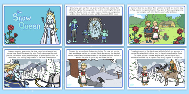 The Snow Queen Story - the snow queen, story, story book, snow queen, snow, queen, winter, cold