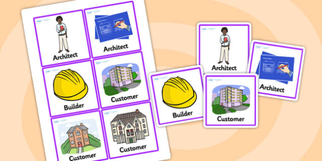Architects Office Role Play Badges - architects office, architects, role play, badges, role play badges, badges for role play, role play props, display