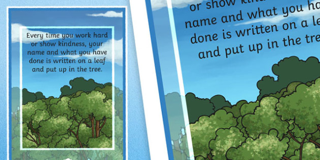 Achievement Tree Motivational Poster - achievement, tree, poster