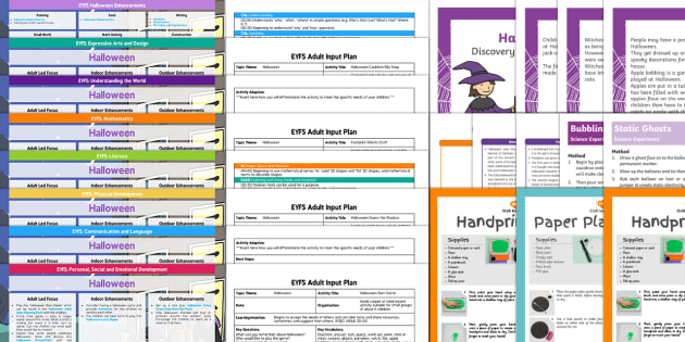 EYFS Halloween Bumper Planning Pack