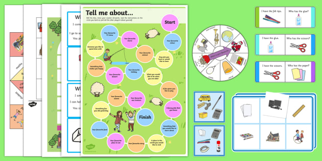 Back to School Games Resource Pack - End of Year/Back to School Australia, getting to know you, ice breakers, all about me, Australia
