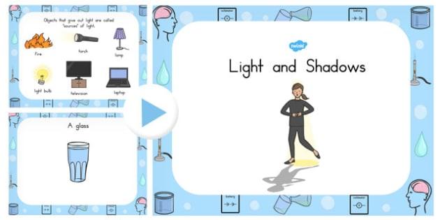 Light and Shadow PowerPoint - australia, light, shadow, powerpoint