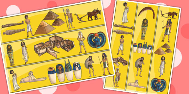 Ancient Egypt Display Borders - egypt, borders, display border
