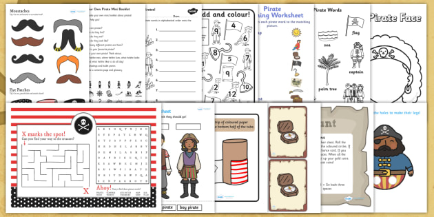 Pirate Colouring Sheets Twinkl : Pirate activity pack pirates pirate games activities
