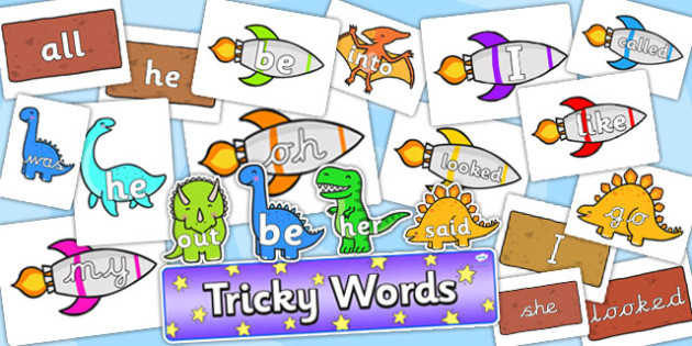 Tricky Words Resource Pack - tricky words, resource pack, tricky words resources, pack of resources, hard words, tricky words activities, literacy, english
