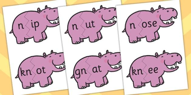 n Sound And Vowel Animal Jigsaw - sounds, vowels, jigsaw, animals