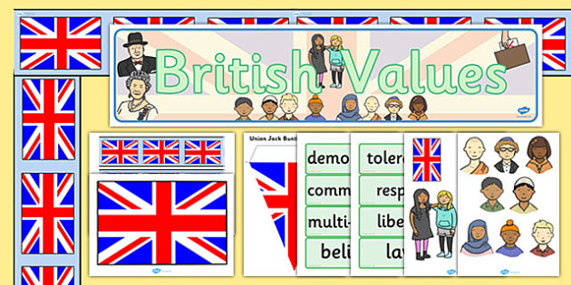British Values Display Pack - display, pack, british, values
