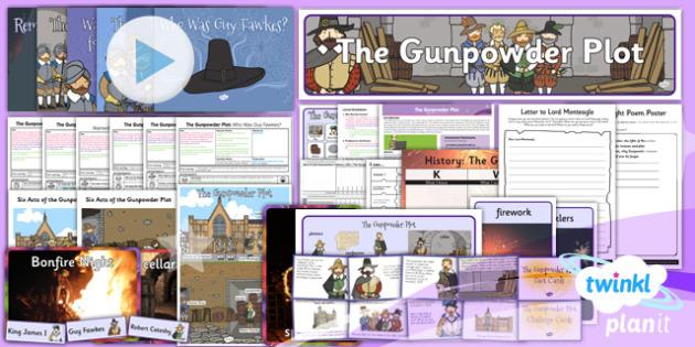 History: The Gunpowder Plot KS1 Unit Pack