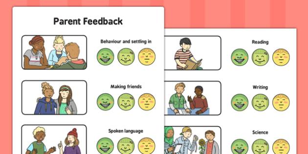 Parent Feedback - parent feedback, parent, feedback, eal, communication