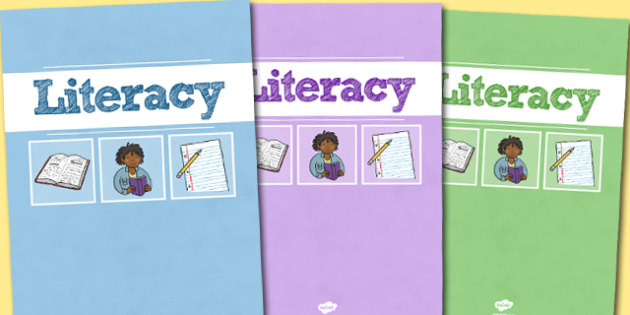 A4 Literacy Divider Covers-literacy divider covers, divider covers, literacy dividers, A4 covers, A4 divider covers, english, themed dividers