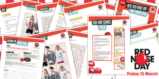 Red Nose Day 2015 Games Pack - red nose day, 2015, games, pack