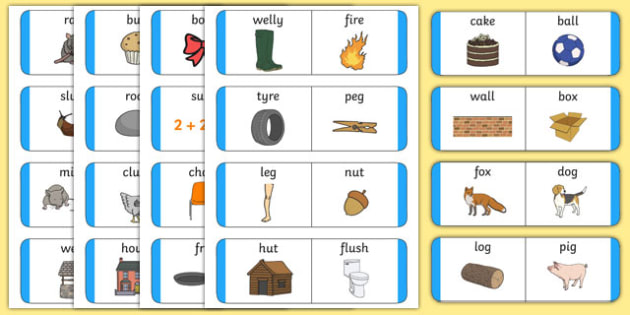 Rhyming Loop Cards - australia, Phonics, rhyming, language, literacy, listening, talking, loop cards