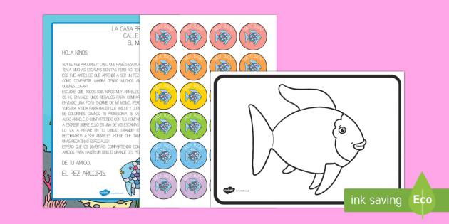 Pack de recursos - Comparte con el pez arcoiris