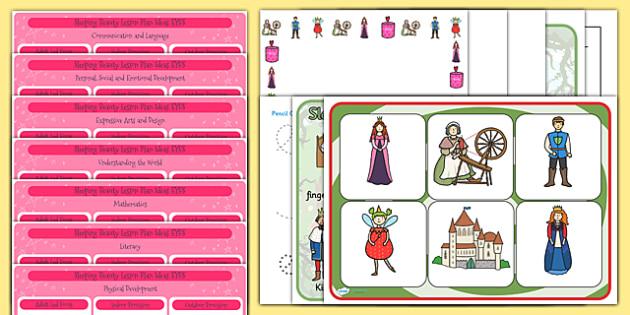 EYFS Sleeping Beauty Lesson Plan and Enhancement Ideas - stories, lesson ideas