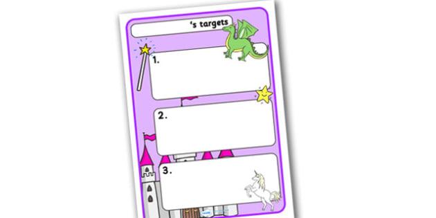 Themed Target Sheets Fantasy - Target Sheets, Themed Target Sheets, Fantasy Target Sheets, Fantasy Themed, Fantasy Themed Target Sheets