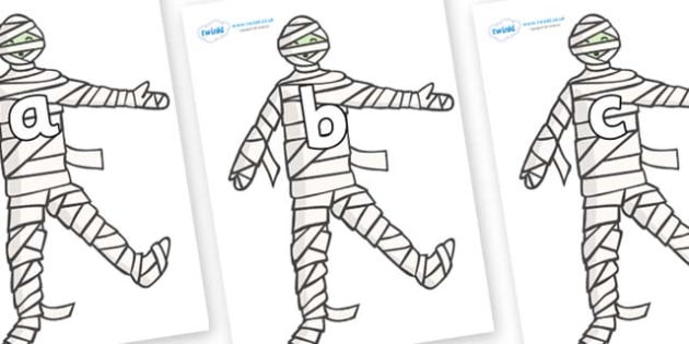 Phase 2 Phonemes on Mummy (Plain) - Phonemes, phoneme, Phase 2, Phase two, Foundation, Literacy, Letters and Sounds, DfES, display