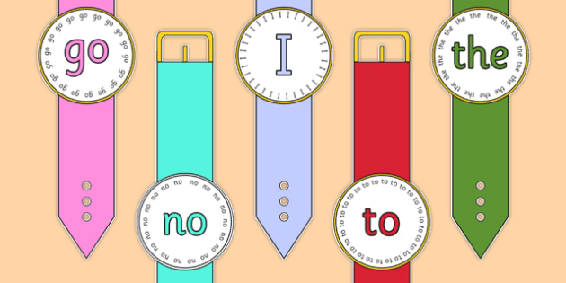 Phase 2 Tricky Word Watches - phase 2, tricky word, watches, display