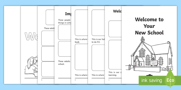 EAL Starter Welcome to Your New School Booklet - New, School, EAL