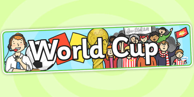 Football World Cup Role Play Display Banner - football, world cup