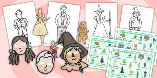 Wizard of Oz Story Sack - story sack, story books, story book sack, stories, story telling, childrens story books, traditional tales