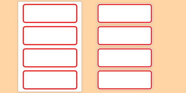 Editable Classroom Resource Labels (Red) - Resource Labels, Label template, Editable Labels, Drawer Labels, KS1 Labels, Foundation Labels, Foundation Stage Labels, Teaching Labels, Resource Labels, Tray Labels, Printable labels Name Labels, Editable