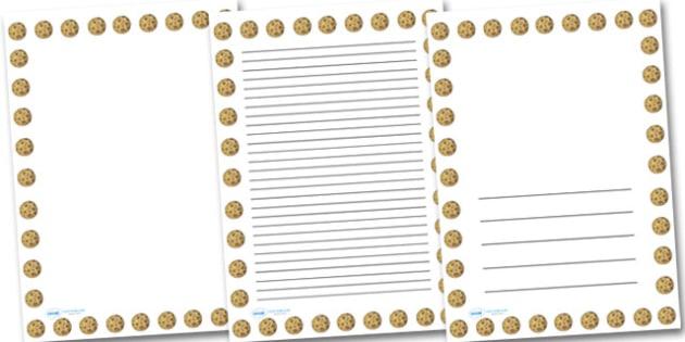 Mercury Portrait Page Borders- Portrait Page Borders - Page border, border, writing template, writing aid, writing frame, a4 border, template, templates, landscape
