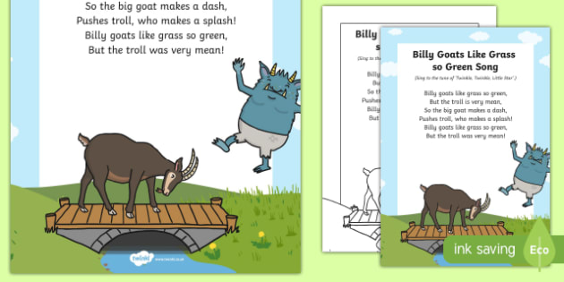 Billy Goats Like Grass So Green Song