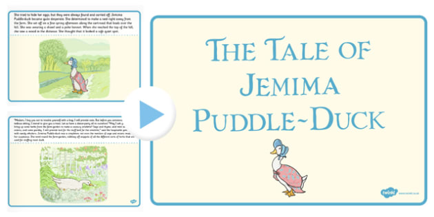 The Tale of Jemima Puddle-Duck PowerPoint - jemima puddle-duck